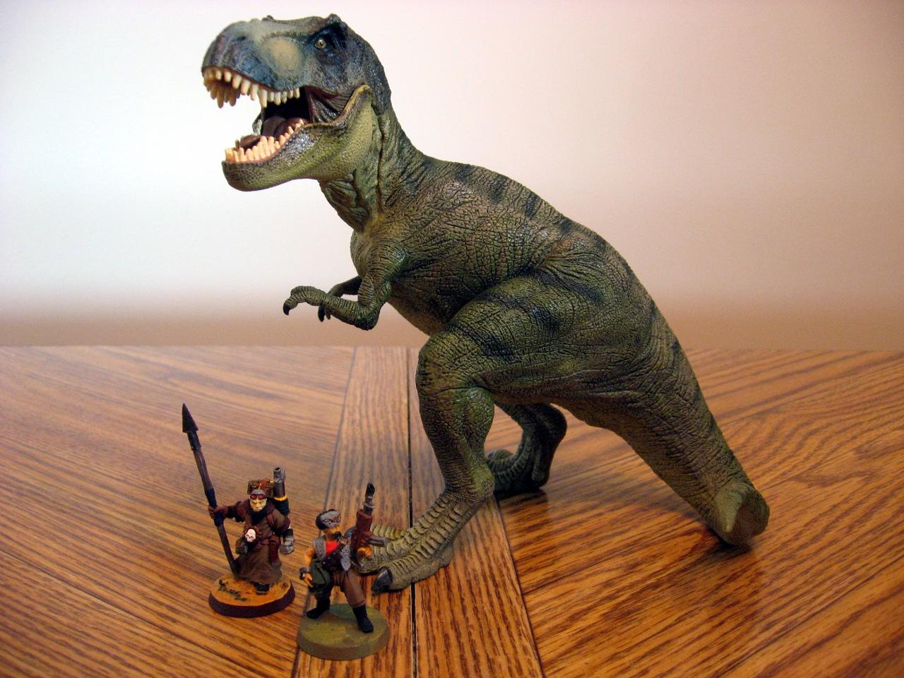 Papo Dinosaur Cowboys Tabletop Skirmish Game