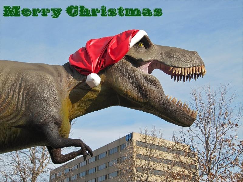 Merry Christmas! | Dinosaur Cowboys - Tabletop Skirmish Game
