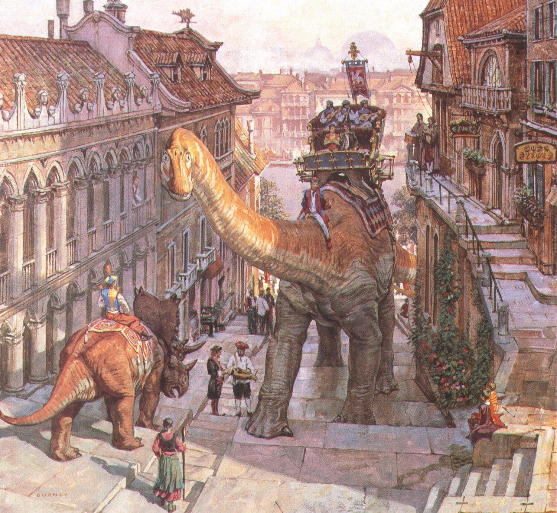 Dinotopia Dinosaur Cowboys Tabletop Skirmish Game
