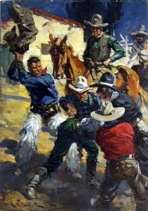 Cowboy-Brawl