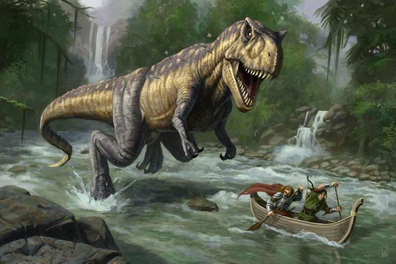 Medieval-Dinosaur