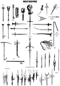 Melee-Weapons