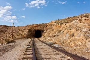 train-mine
